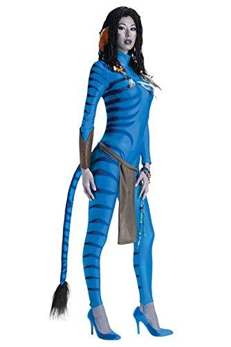 Mememall Fashion Sexy Avatar Secret Wishes Neytiri Adult Halloween Costume (Sexy Neytiri)