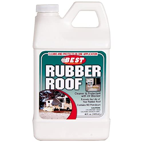 B.E.S.T. 55048 Rubber Roof Cleaner/Protectant   48 Oz.