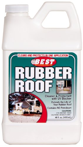 B.E.S.T.  55048 Rubber Roof Cleaner/Protectant - 48 oz.