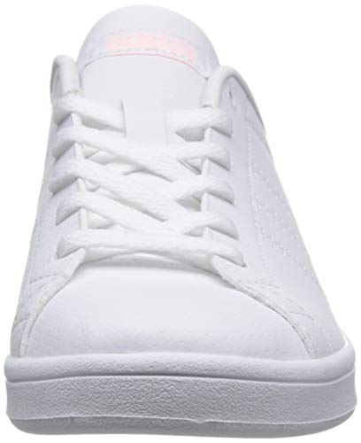 Orange White Damen Footwear 0 Advantage Footwear Weiß QT White adidas Clean Sneaker Clear O8zAqxwP