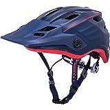 Kali Protectives Maya 2.0 Enduro Helmet Revolt Matte Navy/Red, L/XL Review