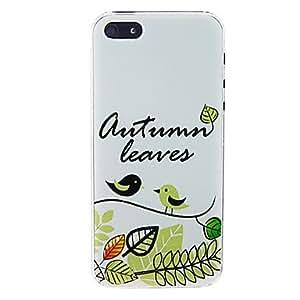 conseguir Bird Leaf nuevo caso para el iPhone 5/5S