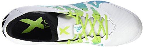 Negro Negbas Adidas Blanco Hombre X Verde Seliso Ftwbla de 15 SG Fútbol Botas 1 para SP6BxwS
