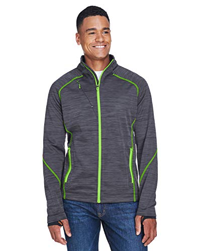 Men'S Flux Mlange Bonded Fleece Jacket (Bonded Fleece Outerwear)