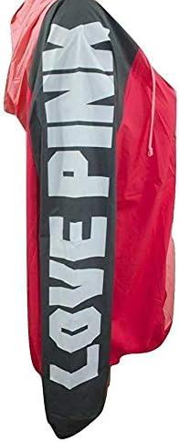 Pink Anorak Windbreaker Jacket Colorblock Half Zip Multi Color Med//Large NWT