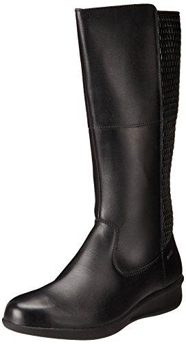 Aravon Women's Lillian-AR Boot Black QEwDU