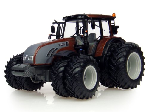 1/32 Valtra T213 Brown Toy Tractor by Universal Hobbies #UH4080