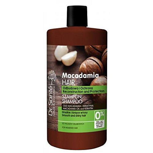 Dr.Sante Natural Macadamia Shampoo for Weakened Hair with Keratin 1000ml