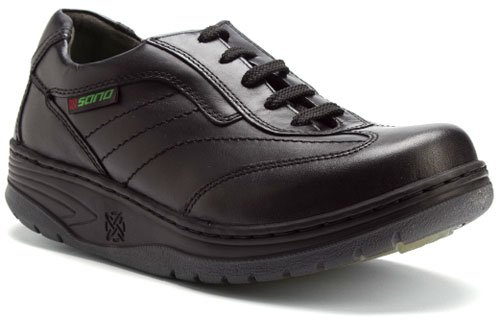 Sano by Mephisto Men's Rapid Toning Shoes,Black Smooth,6.5 M US