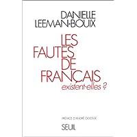 Fautes de français existent-elles?