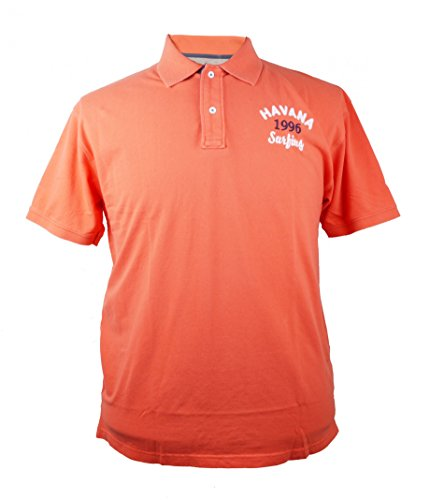 Poloshirt in der Trendfarbe Koralle von Kitaro