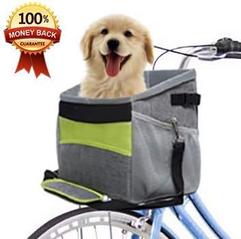 Pet FurryFriends Carrier - Cesta para Bicicleta de Perro con ...