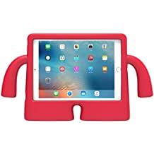 Speck Products iGuy Case and Stand for 9.7-Inch (2017), 9.7 Inch iPad Pro, iPad Air 2, iPad Air, Chili Pepper Red, 77641-B104