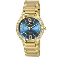 Relógio Feminino Condor Analógico Com Cristais Swarovski Co2035Krg/4A Dourado
