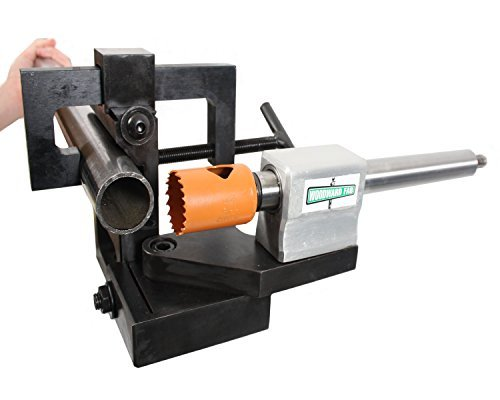 Heck Pipe and Tube Notcher, Hole Saw, 40 ga. (Best Hole Saw For Tube Notching)