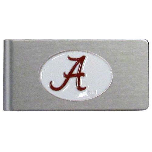 NCAA Alabama Crimson Tide Brushed Money Clip