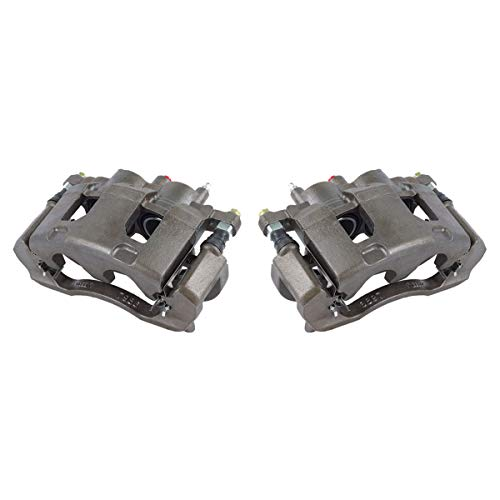 CKOE00407 [ 2 ] FRONT Premium Grade OE Semi-Loaded Caliper Assembly Pair Set ()