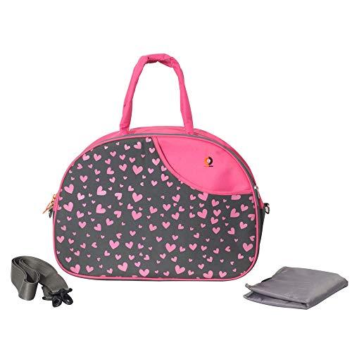PrettyKrafts Baby Diaper Bag | Mother Bag |Nursing Bag | Mummy Bag | Maternity Bag   Pink