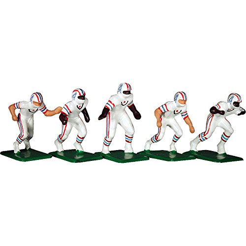 Tudor Games 5-19-W NFL Away Jersey - Houston Oilers 11 Electric Football Players, Multicolor (Pack of 11)