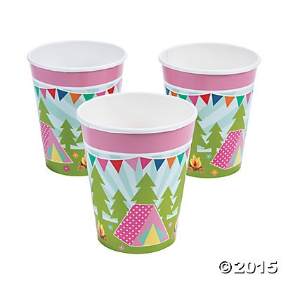 Camp Glam Cups (Pack of 3)