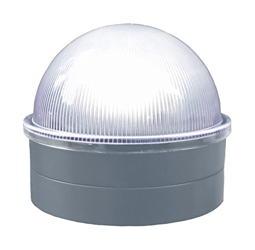 - Classy Caps CH2233S Summit Chain Link Fence Solar Post Cap, Silver