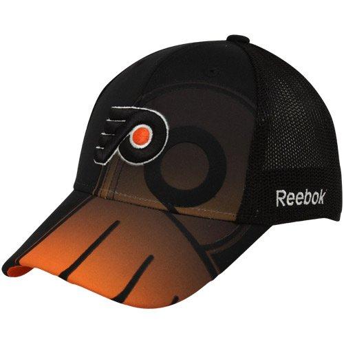Reebok Philadelphia Flyers Mesh (Philadelphia Flyers NHL Reebok Center Ice Second Season Player Hat)