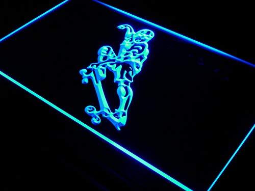 ADVPRO Skateboarding Skateboards Training LED Sign for sale  Delivered anywhere in USA