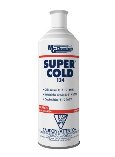 MG Chemicals 403A 134A Super Cold Spray, 400g (14 oz) Aerosol Can