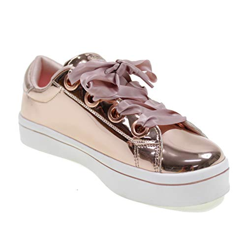 Liquid Sneakers Scarpe Rose 84693l Bling Metallic rose Bambine Gold Skechers Rosa rsgd Ragazze 4q6Cfqw