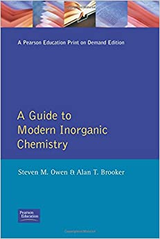Guide to Modern Inorganic Chemistry, A