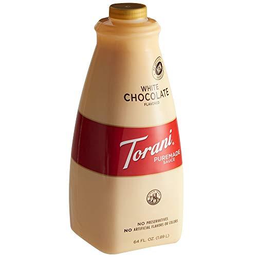 Torani White Chocolate Puremade Sauce 64oz