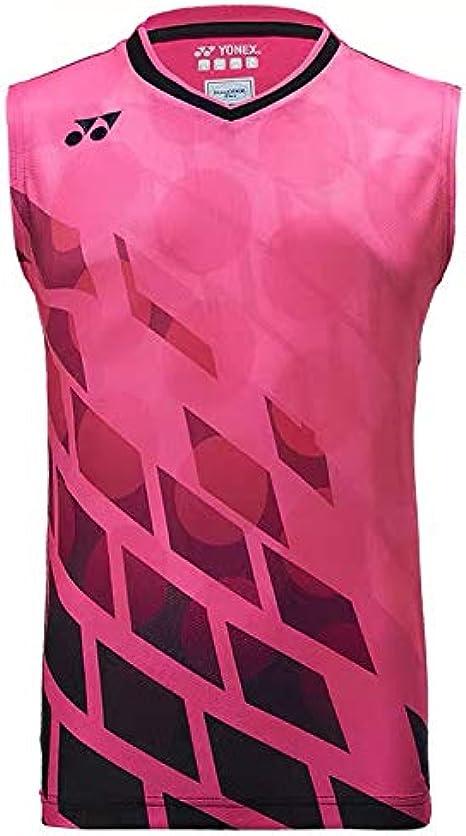 Yonex 10283 Mens Sleeveless Shirt Pink
