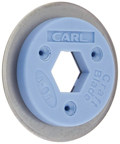 Rotary Trimmer Blade - CARL B-01 Professional Rotary Trimmer Replacement Blade - Straight