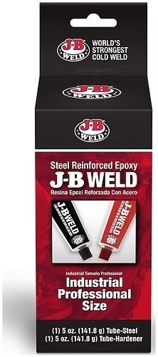 (GBW J-b Weld 8280 Industrial Cold Weld Compound Large (2-5 Oz. Tubes))