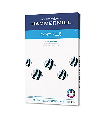 hammermill-copy-plus-multipurpose-copy-paper-92-brightness-20lb-legal-500-sheets-sold-as-2-packs-of-
