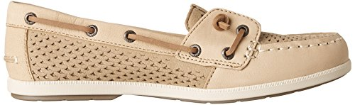 Scale Ivy Sperry Shoes Emboss Sider Linen Womens Top Coil wAA1Tx6n
