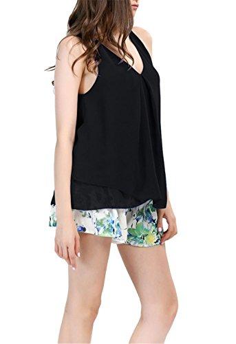 Gasa YACUN mujeres Tops camisa