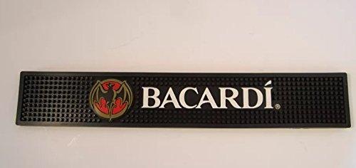 Bacardi Rum Bar Rail Drip Mat