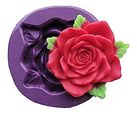 Europe Silicone Mold Maker molde de silicona para bricolaje para el 3d de huella una Rose ...