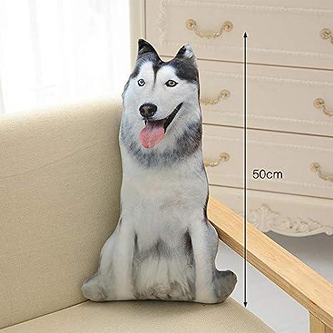 DESY Cojín 3D con Forma de Cachorro Cojín con algodón PP ...