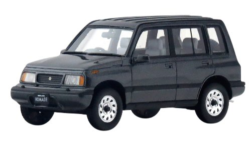 Hi Story 1/43 SUZUKI ESCUDO NOMADE (1990) charcoal gray M by INTERALLIED