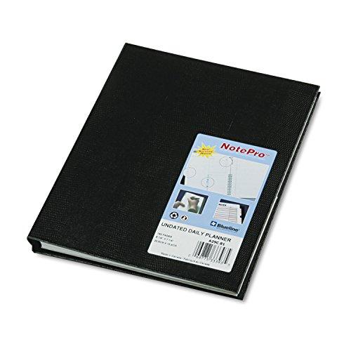 Notepro Undated Daily Planner (REDA29C81 - Blueline NotePro Undated Daily Planner by Blueline)