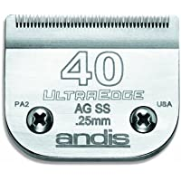 """Andis Ultra Edge Size, 40SS: 1/100"""" (0.25 mm), 40"""