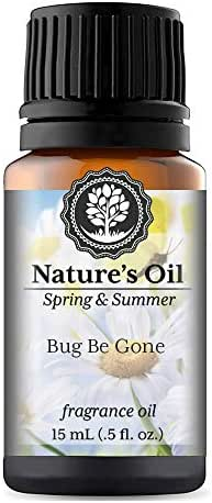 Bug Be Gone Fragrance Oil (15ml) For Diffusers, Soap Making, Candles, Lotion, Home Scents, Linen Spray, Bath Bombs, Slime
