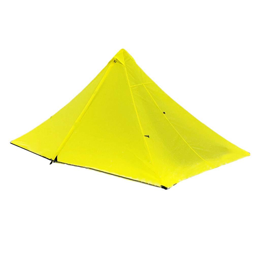 P Prettyia Leicht Campingzelt atmungsaktiv Moskitonetz Trekkingzelt