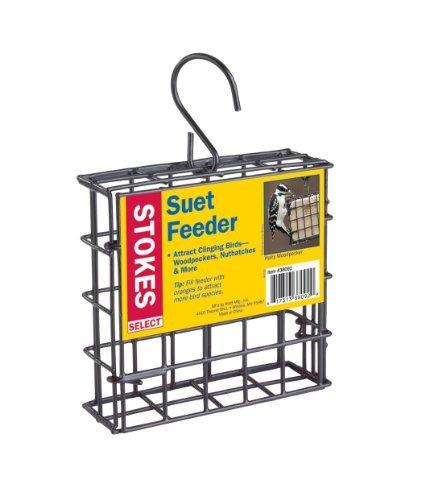 Stokes Select Suet Bird Feeder, One Suet Capacity (2 Pack)