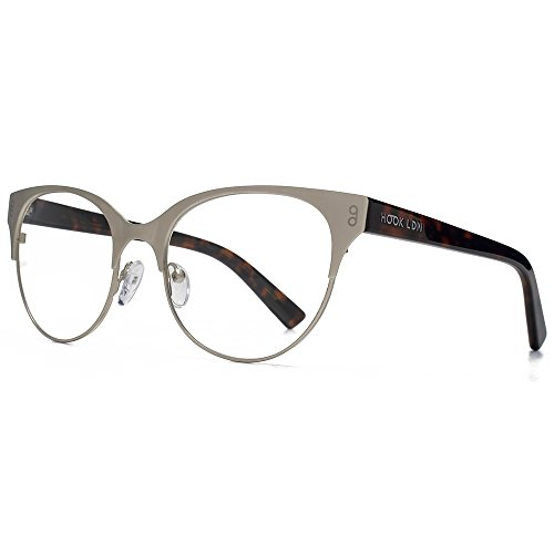 Hook LDN Pagode acier inoxydable Cateye lunettes en or HKS006-GLD clear