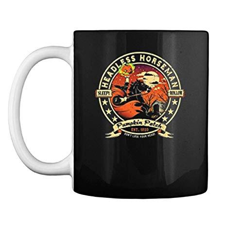 Headless horseman Halloween pumpkin ale 2017 Mug Coffee Mug (White, 11 oz) -