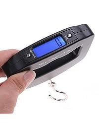 Báscula De Viaje Digital 50kg Portable Para Maletas Equipaje