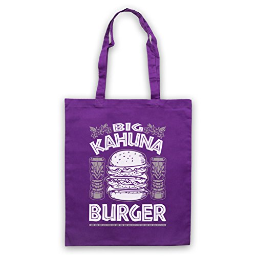 by Burger Kahuna Purple Fiction Tote Inspired Bag Unofficial Big Pulp 4qdp4wS